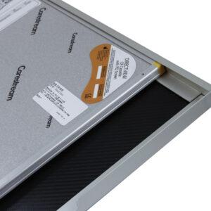 Aluminum with Channels Encasement - Detail