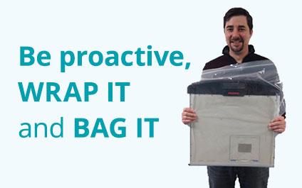 Ahhh, PUT A BAG ON IT!